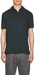 James Perse Men's Supima® Cotton Polo Shirt - Dk. Green