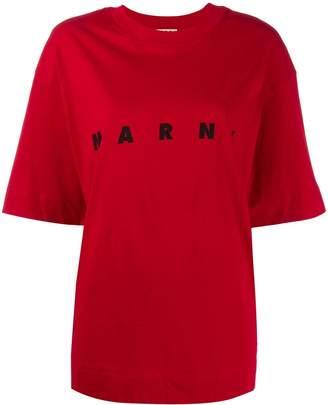 Marni (マルニ) - Marni ロゴ Tシャツ
