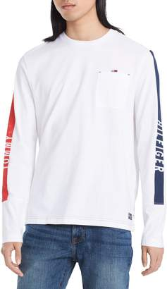 Tommy Hilfiger Long-Sleeve Pocket Cotton Tee