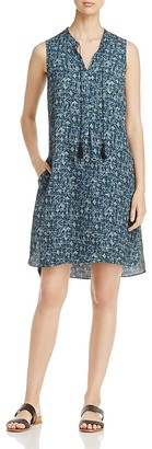 NIC and ZOE Seaglass Print Tassel Dress $168 thestylecure.com