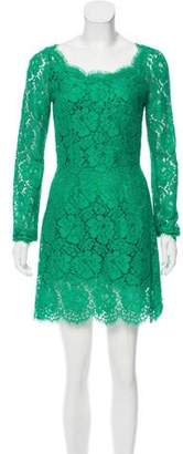 Dolce & Gabbana Lace Mini Dress w/ Tags