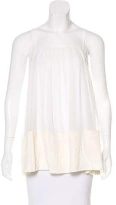 Elizabeth and James Sleeveless Layered Top