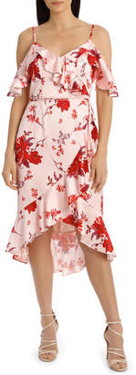 Red Posey Floral Cha Cha Dress