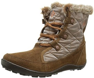 Columbia Women's Minx Shorty Resort Nutme Winter Boot $59.88 thestylecure.com