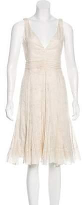Paul Smith Embroidered Midi Dress