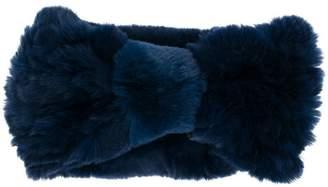 Yves Salomon Accessories furry headband