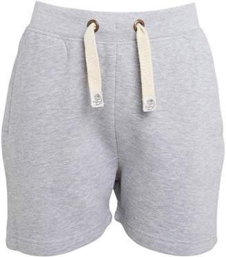 Kangaroo Poo Boys Fleece Shorts Grey Marl