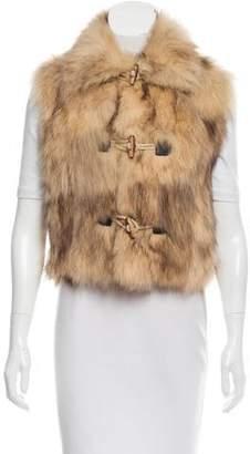 Cassin Sherry Fox Fur Vest