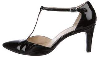 Adrienne Vittadini Patent Leather Pointed-Toe Pumps