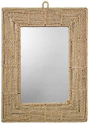 Jamie Young Rectangle Jute Mirror - Natural