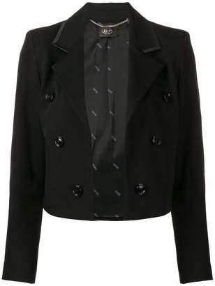 Liu Jo cropped double-breasted jacket