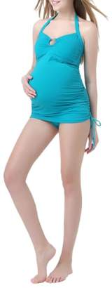 Kimi and Kai 'Chloe' Maternity Two-Piece Tankini Swimsuit
