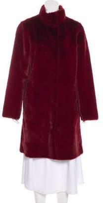 Max Mara Reversible Faux Fur Coat