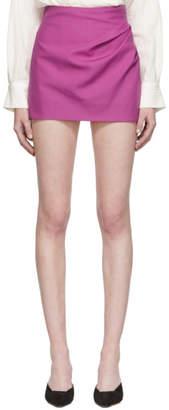 Jacquemus Pink La Jupe Bambola Miniskirt