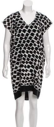 Derek Lam Silk Printed Dress w/ Tags Black Silk Printed Dress w/ Tags