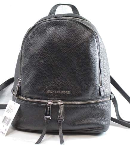 Michael Kors MICHAEL Women's Small Rhea Backpack - BLACKS - STYLE