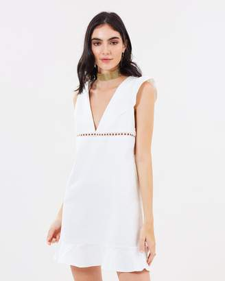 Lana Frill Hem Dress