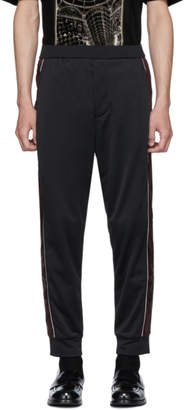 Prada Black and Red Striped Lounge Pants
