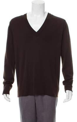 Dolce & Gabbana Wool V-Neck Sweater