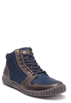 Hybrid Green Label 2.0 Maison Leather High-Top Sneaker