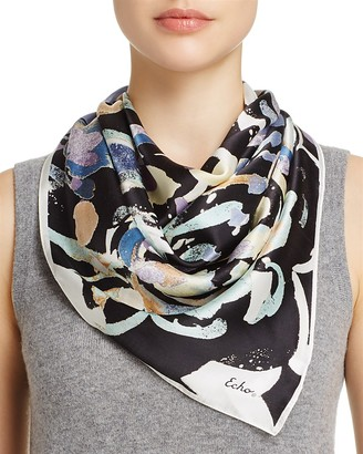 Echo Folklore Paisley Silk Square Scarf - 100% Exclusive $85 thestylecure.com