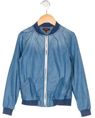7 For All Mankind Boys' Lightweight Bomber Jacket