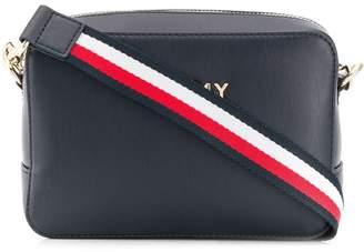 Tommy Hilfiger logo stripe shoulder bag