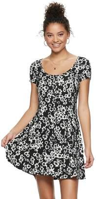 954c8254d0b So Juniors  SO Short Sleeve Button Front Dress