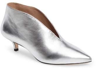 Pour La Victoire Kora Leather Kitten Heel Bootie