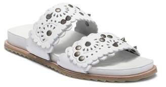 Free People Spellbound Embellished Slide Sandal (Women)