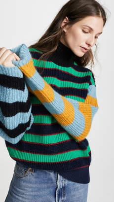 Kenzo High Collar Boxy Sweater