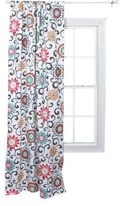 Waverly Pom Pom Play Floral Window Drape