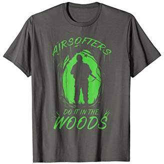 The Woods Airsofters Do It In Airsoft Sport T-shirt