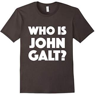 Who Is John Galt T-Shirt | Atlas Shirt | Ayn Rand Shrugged