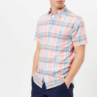 Gant Men's Indian Madras Short Sleeve Shirt