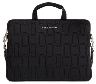 Marc Jacobs 15-Inch Computer Commuter Bag - Black $150 thestylecure.com