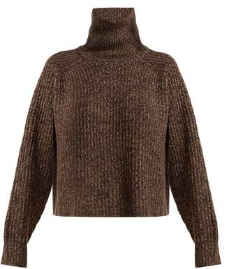 The Row Dickie Cashmere Sweater - Womens - Dark Brown 08ae9c7d149