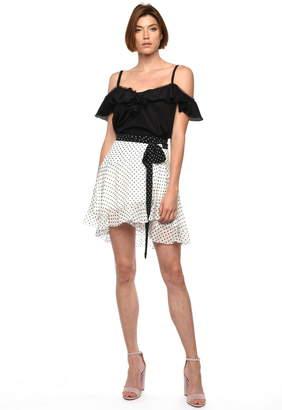 Karina Grimaldi Ines Print Skirt