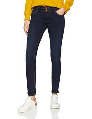 Q/S designed by Women's 46.901.71.2859 Skinny Jeans, (Blue 58z2), (Size: 36/L36)