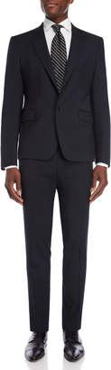 Roberto Cavalli Navy Wool Suit