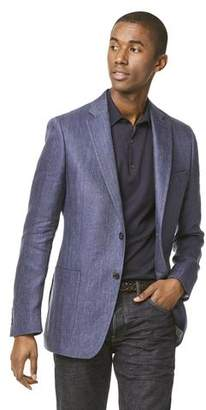 Todd Snyder White Label Linen Herringbone Sutton Sport Coat in Navy