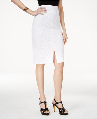 Thalia Sodi Crocheted Pencil Skirt, Only at Macy's $59.50 thestylecure.com