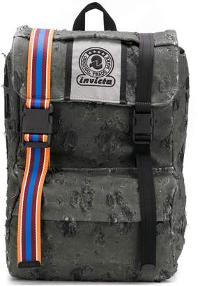 Diesel X INVICTA destroyed backpack