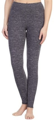 Cuddl Duds ClimateRight by Women's Reversible Brushed Comfort Warm Underwear Legging