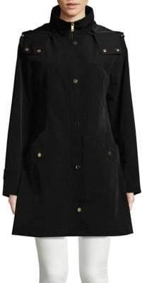 Gallery Hooded Mid-Coat