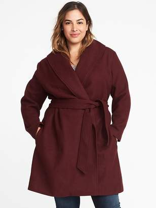 Old Navy Plus-Size Belted Coat