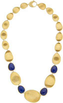 Marco Bicego Lunaria 18K Yellow Gold Lapis Necklace