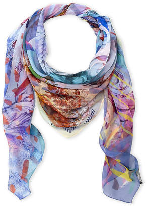 Christian Lacroix Printed Silk Scarf