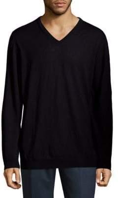 HUGO BOSS Slim-Fit Wool Sweatshirt
