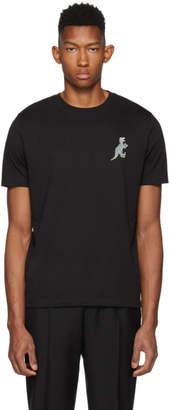 Paul Smith Black Regular Fit Dino T-Shirt